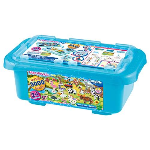 Aquabeads 32808 Caja de Diversión – Safari Multi