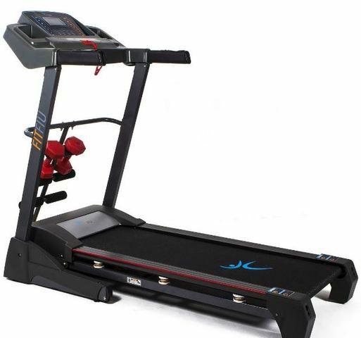FITFIU - Cinta de correr (PLEGABLE) MC-400 2000W 20km/h con pulsómetro