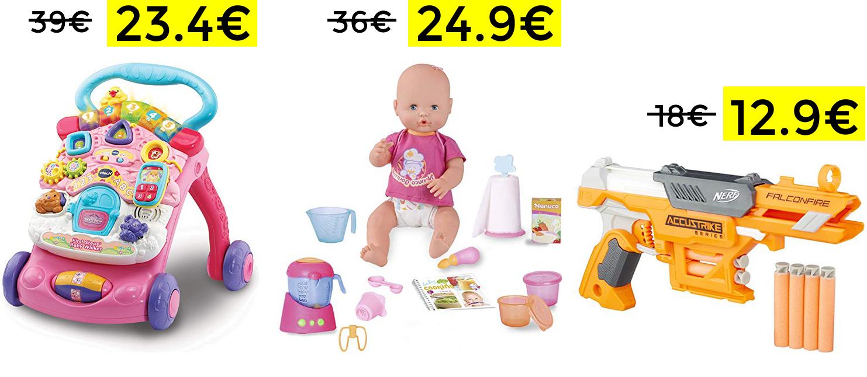 Descuentazos en selección de juguetes