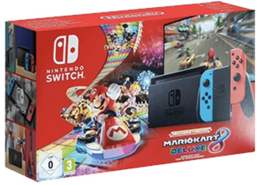 Pack Nintendo switch v2 con Mario kart
