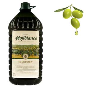 Garrafa Aceite de Oliva Virgen Extra 5L (HOJIBLANCA)