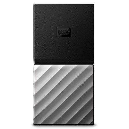 WD My Passport SSD - Almacenamiento portátil de 512 GB, Color Negro