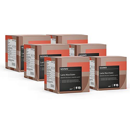 96 Cápsulas Solimo Latte Machiatto 0,12€ u. compatibles Dolce Gusto