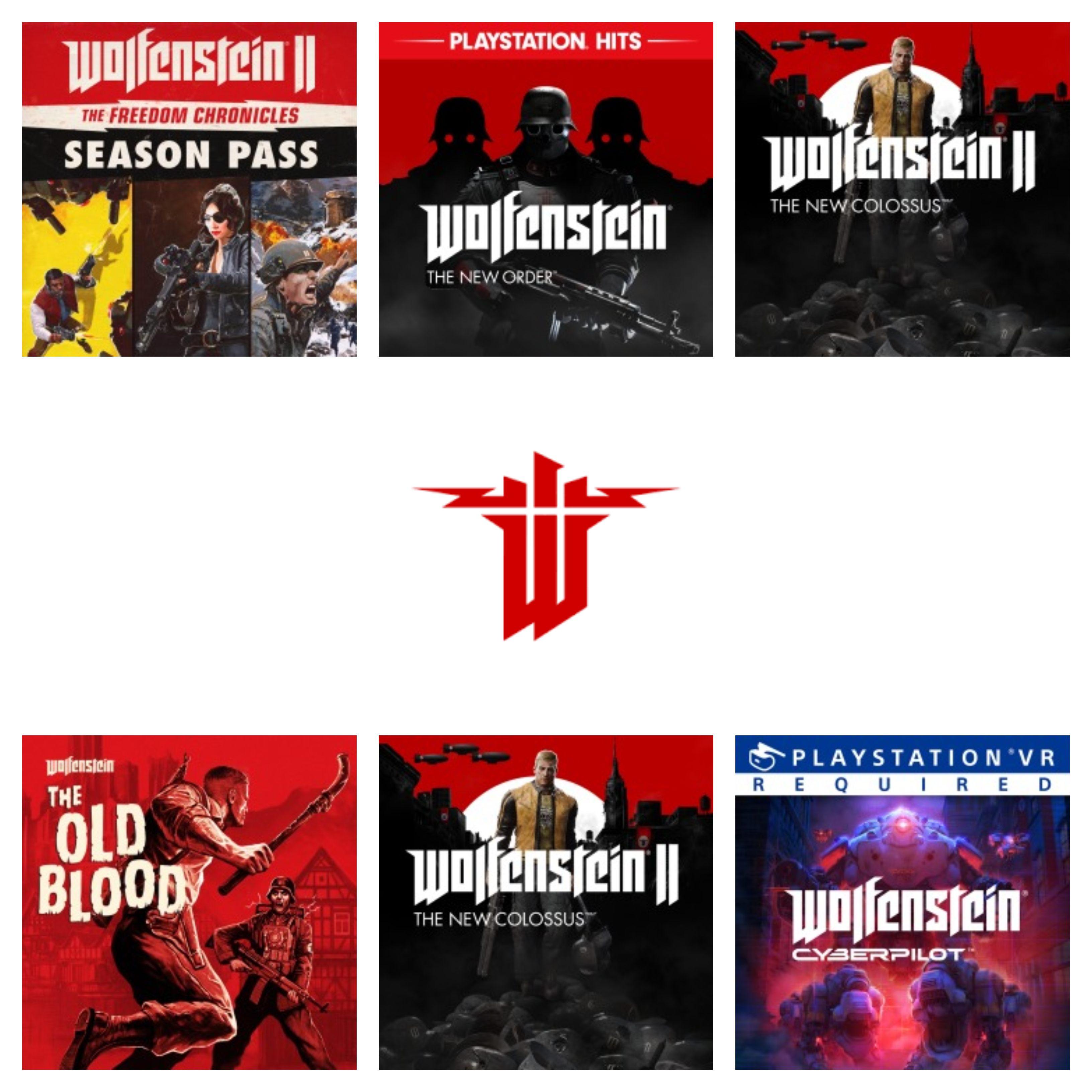 Hasta un 82% saga Wolfenstein (PS4)
