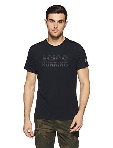 TALLA L - ASICS Graphic SS Top Camiseta, Hombre