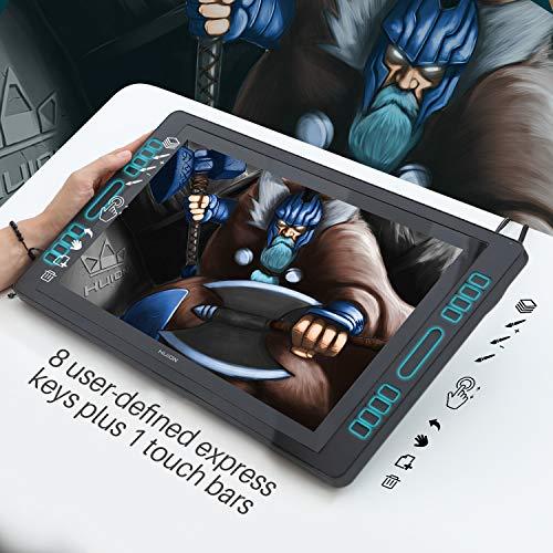 Huion KAMVAS Pro 12 / Tableta gráfica de 11.6 Pulgadas Monitor de Tableta de Dibujo gráfico