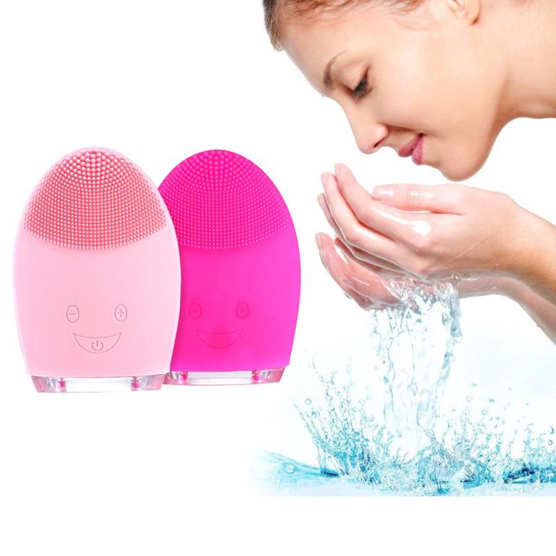 cepillo de limpieza facial eléctrico Mini