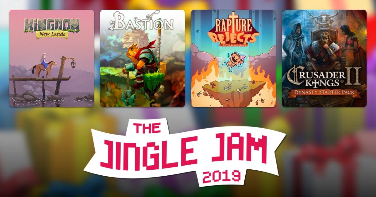 Humble Bundle: JingleJam - 32 juegos por 27€ - Calendario de adviento