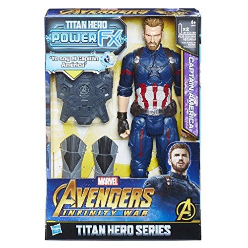 Figura Capitán América con mochila