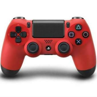 DualShock PS4 rojo