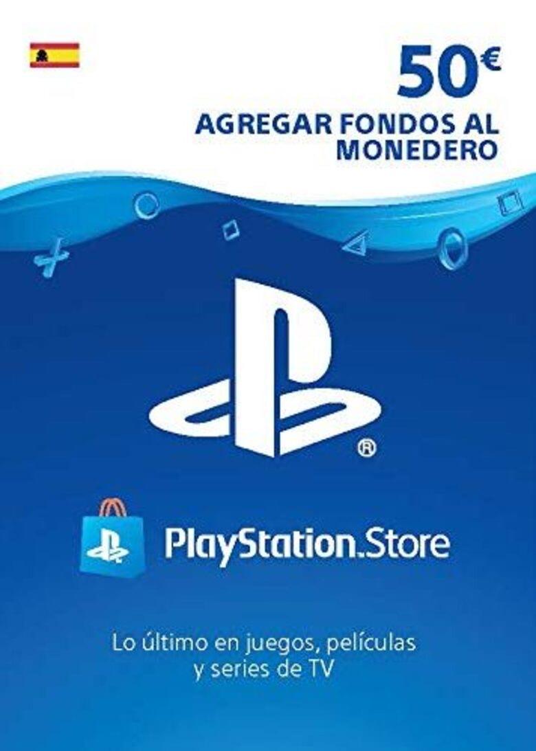 Tarjeta Playstation Network 50 EUR (ES)
