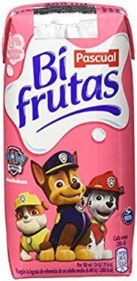 Bifrutas - Fresa Plátano - Pack 6 x 200 ml.