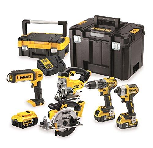 Walt dck551p3t-qw Kit de 5 herramientas eléctricas portátiles