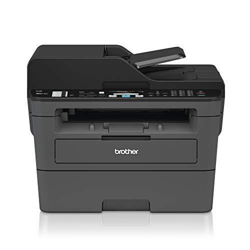 Brother MFCL2710DW - Impresora multifunción láser monocromo con fax e impresión dúplex (30 ppm, USB 2.0, Wifi, Ethernet...