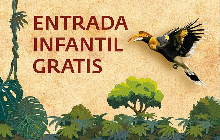 Entrada Gratis Niñ@s Bioparc Fuengirola