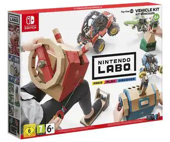 SOLO TERUEL Nintendo Labo kit vehículos