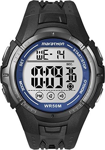 Reloj de pulsera Timex Marathon - sumergible 50m - alarma, hora doble