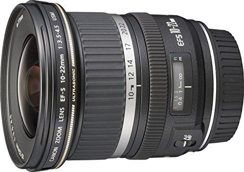 Objetivo para Canon (distancia focal 10-22mm, apertura f/3.5)