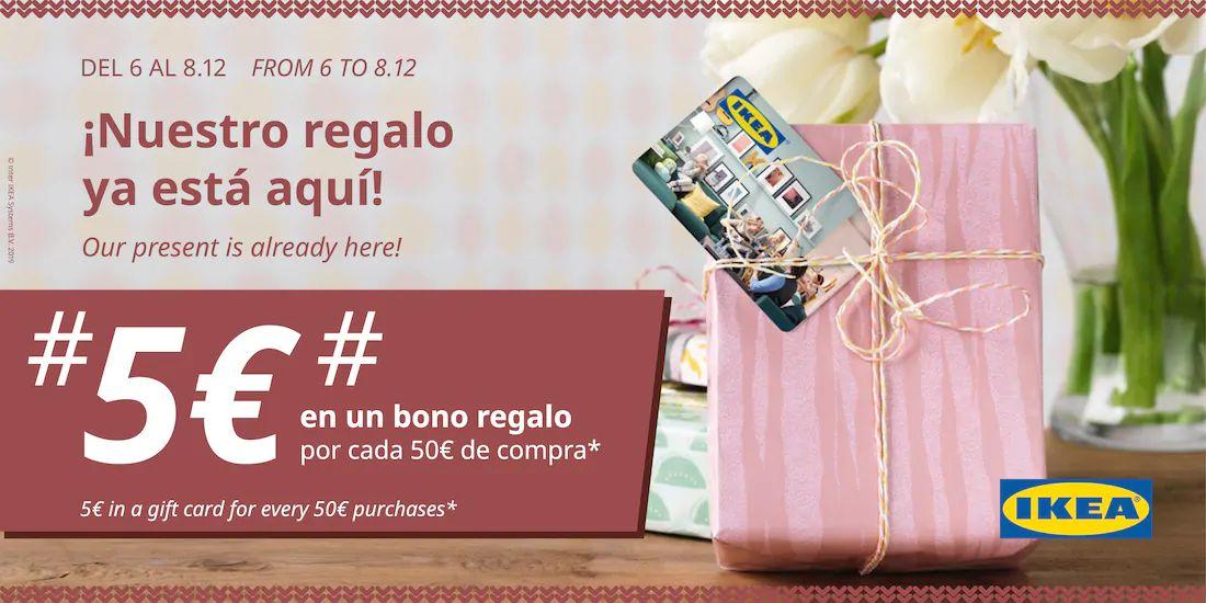 IKEA Murcia - 5€ de regalo por cada 50€