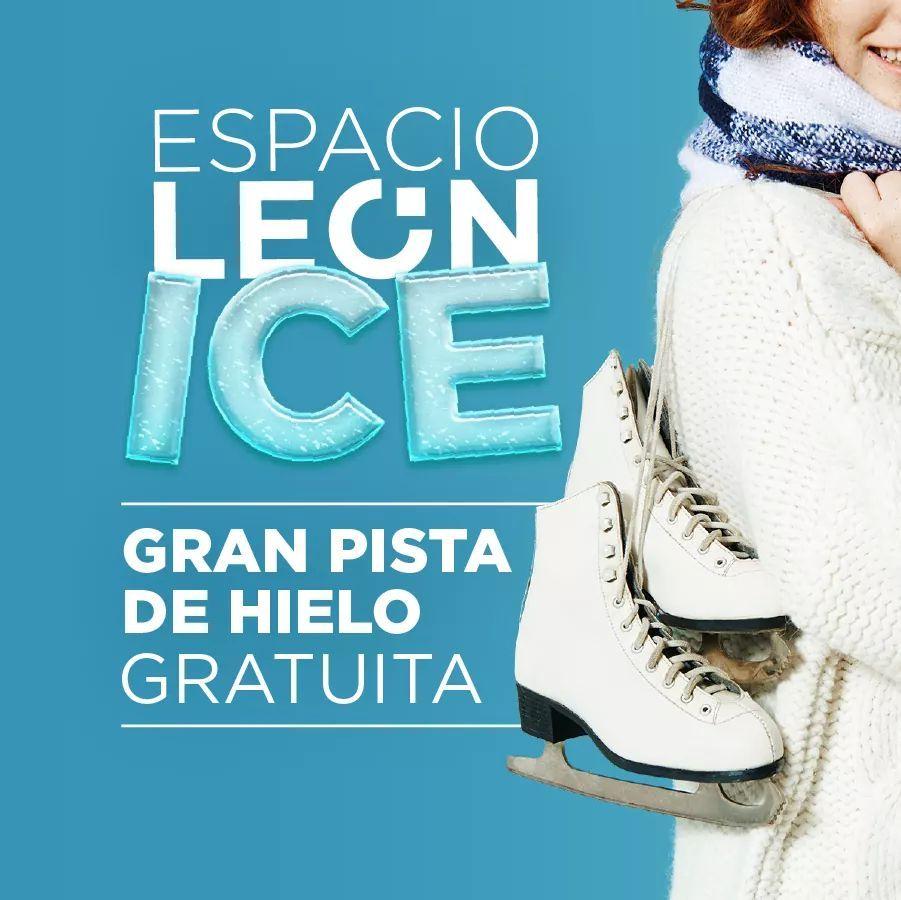 Pista gratuita de hielo ( en León)