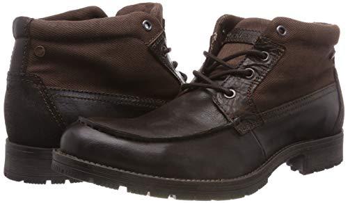 Talla 42 botas militares cuero Jacks and Jones