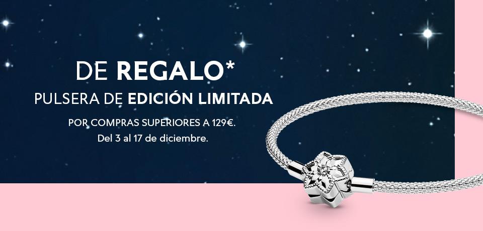 Pandora te regala una pulsera por compras superiores a 129€