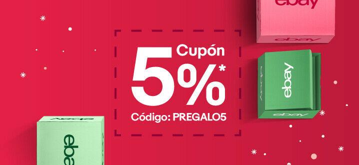 5% adicional en TODO eBay