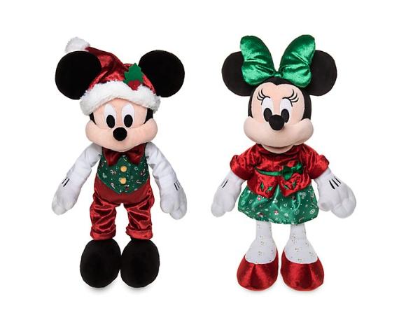 Set peluches de Navidad Mickey Y Minnie