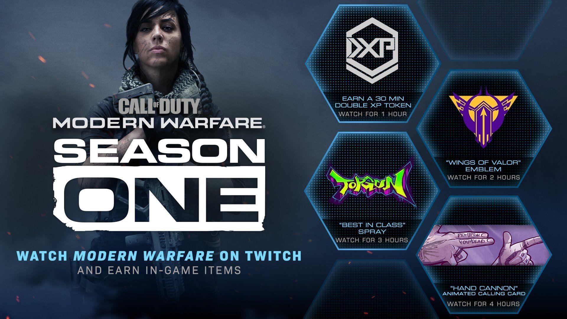 Call of Duty: Modern Warfare, contenido adicional gratis al ver retransmisiones en Twitch