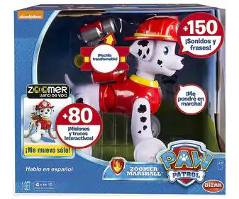 Perro de la patrulla interactivo de 100€ a 29,99