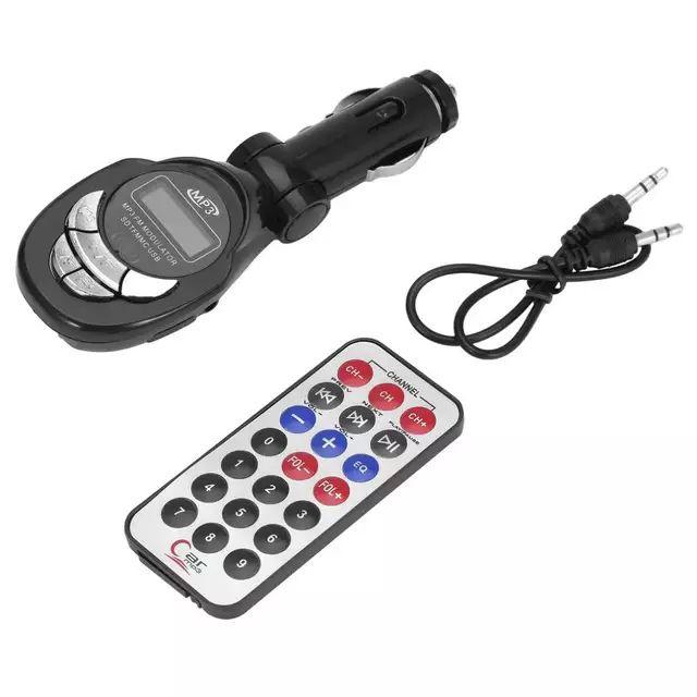 Transmisor FM 4 en 1 + Mando a distancia