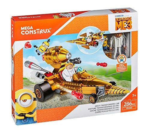 Mega Bloks-FDX84 Minions Disney Vehiculo transformable