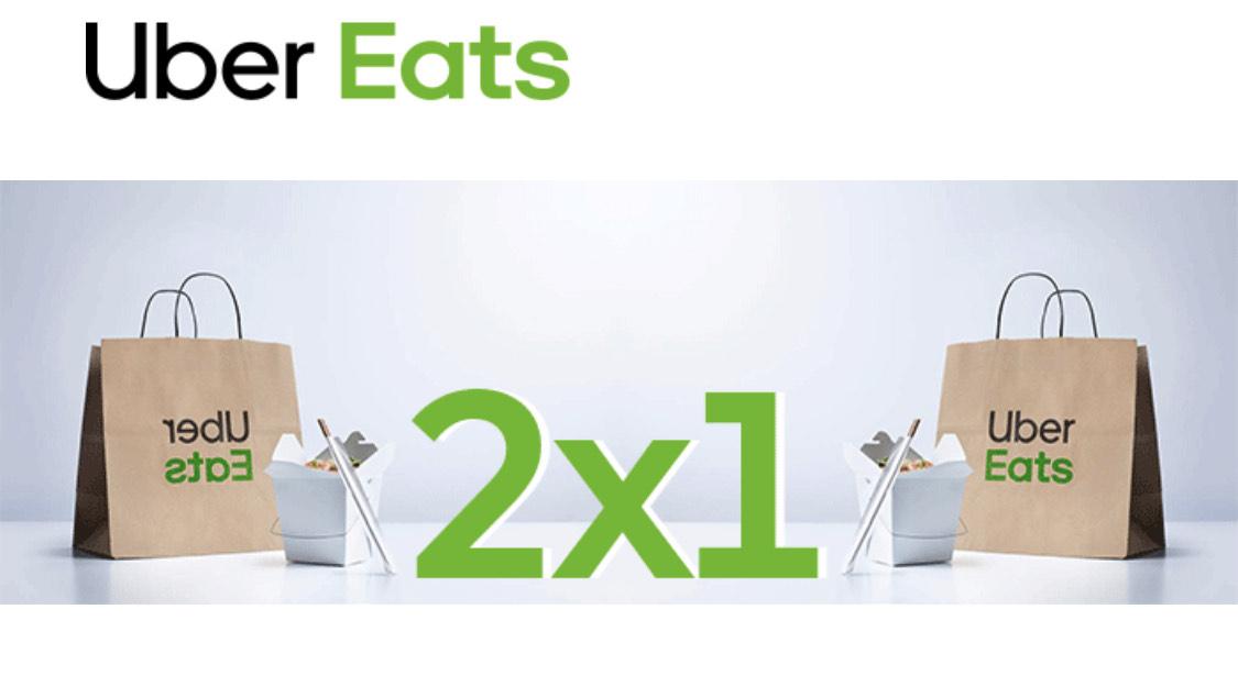 2x1 en Uber Eats