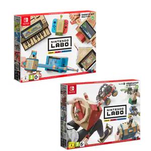 Kit de juegos variados NINTENDO LABO