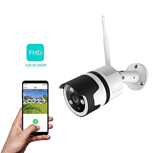 Cámara de Vigilancia WiFi 1080p exterior IP66 (Amazon)