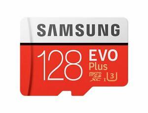 Samsung 128GB EVO plus 100MB/s MicroSD SDXC UHS-I Class 10 Memory Card Bulk
