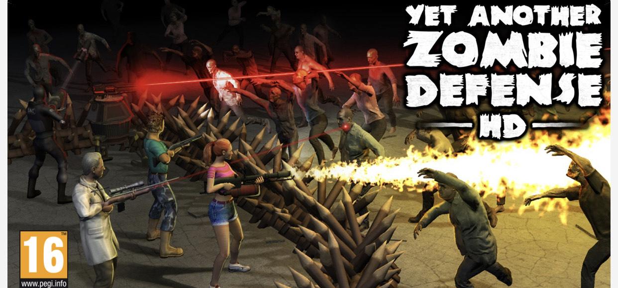 Juegazo e-shop yet another zombie defense hd