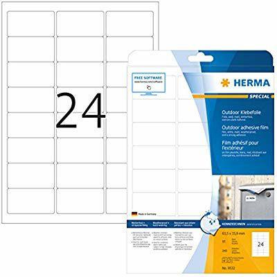 10*24 240 Etiquetas para oficina Herma [1REACO COMO NUEVO]