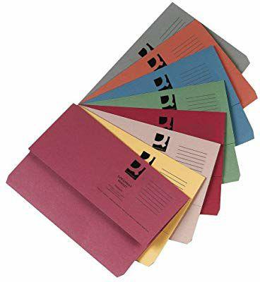 50 Carpetas Expandibles A4 con Solapa [1REACO COMO NUEVO]