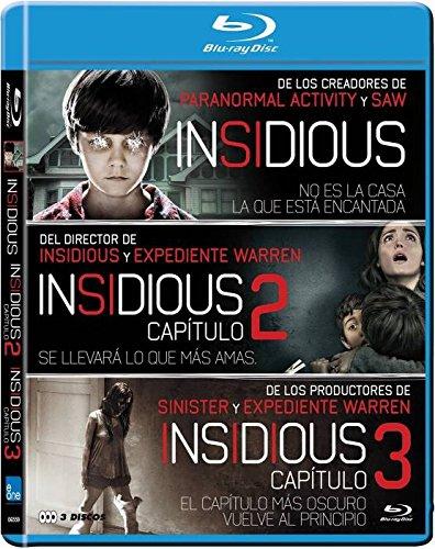 Blu-Ray Pack Insidious 1,2 y 3.