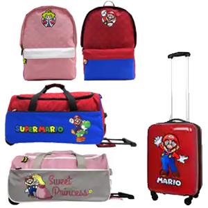Bolsa de viaje y mochilas NINTENDO (Desde 6€)