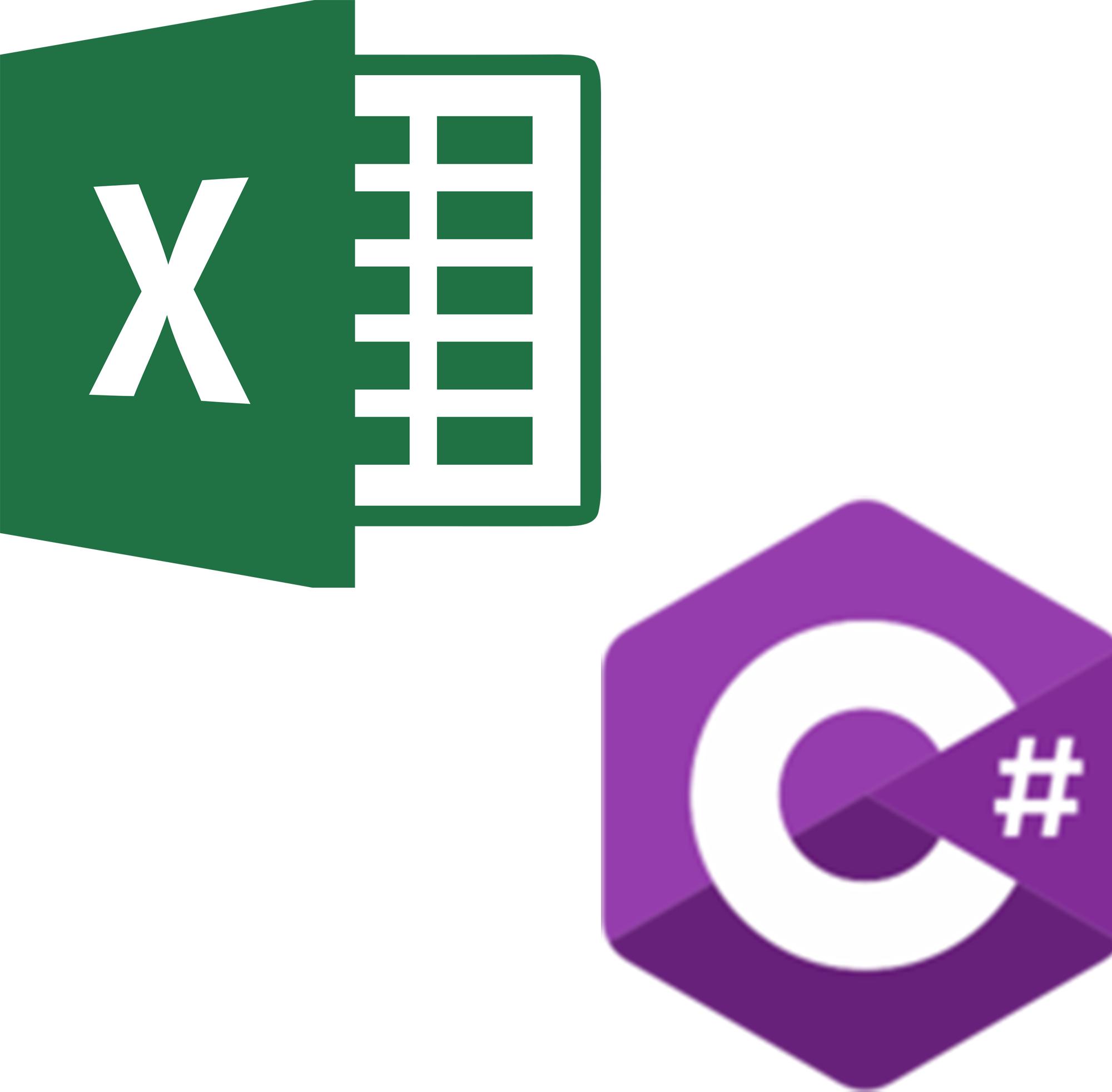 Cursos de iniciación en Excel y complemento C#