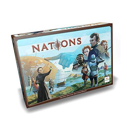 Juego de mesa Nations Mínimo histórico