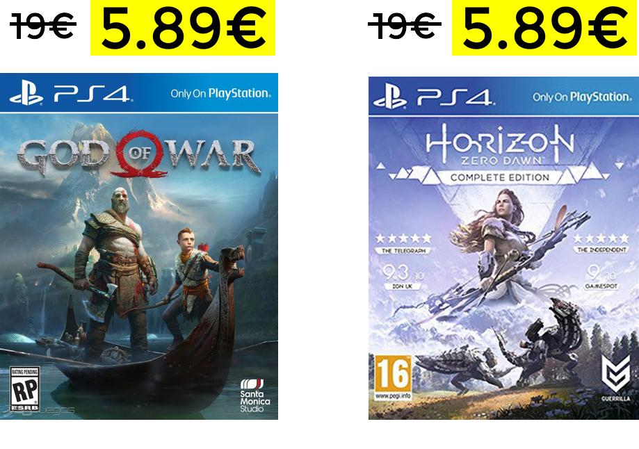 God Of War PS4 Digital solo 5.89€