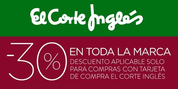 -30% Ventas privadas El Corte Inglés