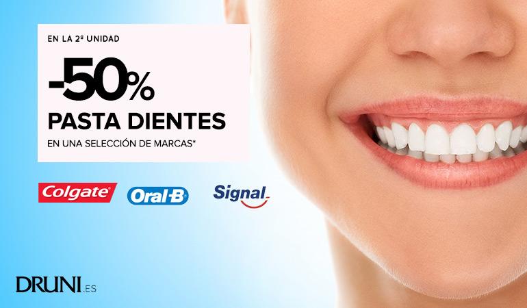 ¡50% de descuento Druni en 2ª unidad marcas Oral-B y Sensodyne!