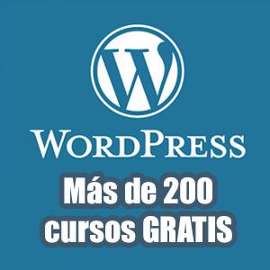 Más de 200 cursos para aprender Wordpress (Udemy)