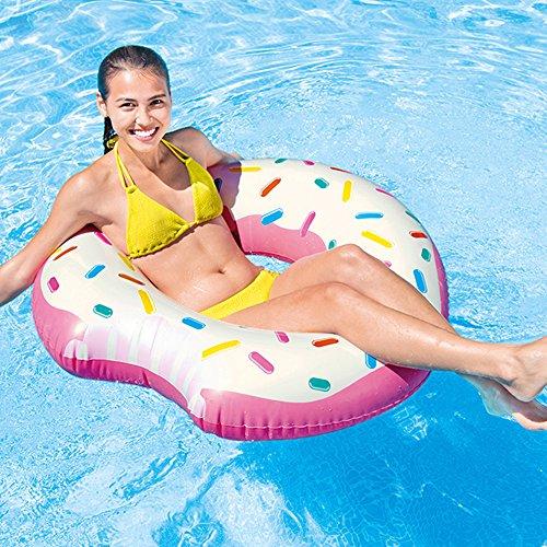 Donut hinchable para el verano