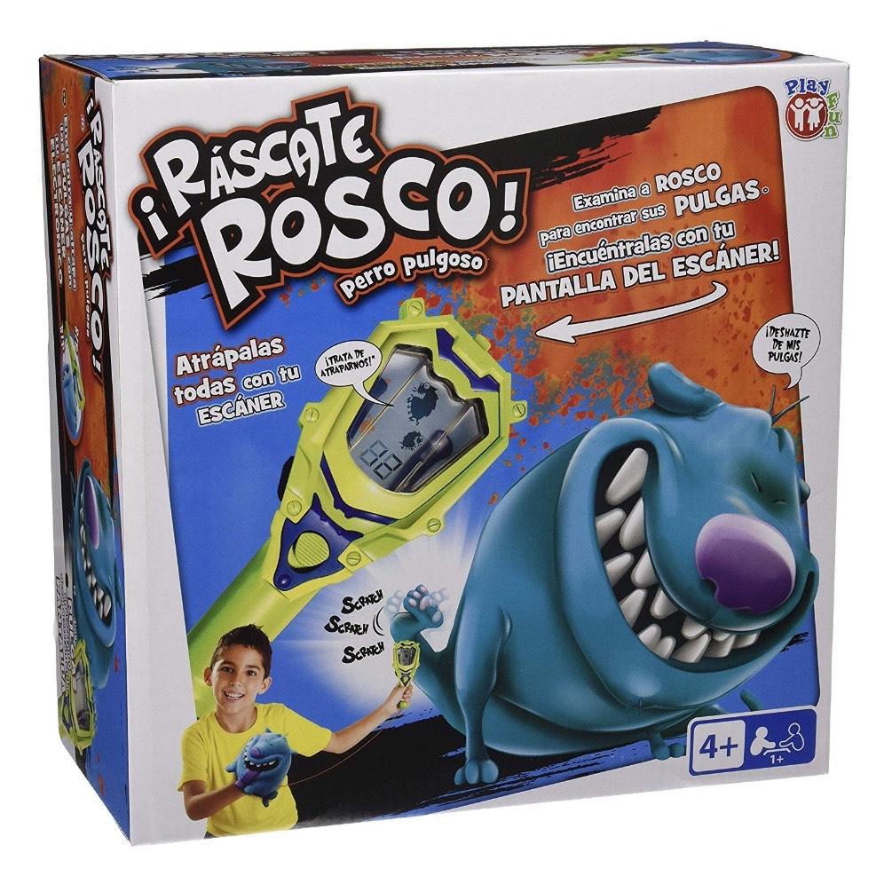 ¡Ráscate Rosco! Perro pulgoso