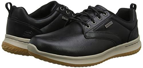 Zapatos Skechers waterproof. Zapatos de cordones Oxford para hombre (4 tallas)